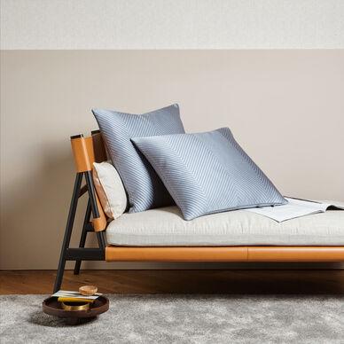 Luxury Herringbone Decorative Pillow image