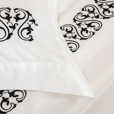 Ornate Medallion Embroidered Sheet Set hover image