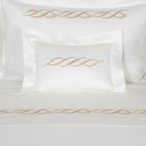 Pearls Embroidered Sham