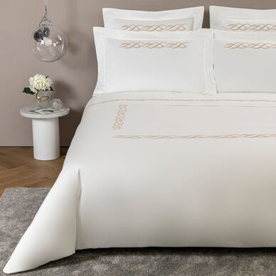 Pearls Embroidered Duvet Cover image