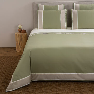 Fisico Duvet Cover Sage/Sand image