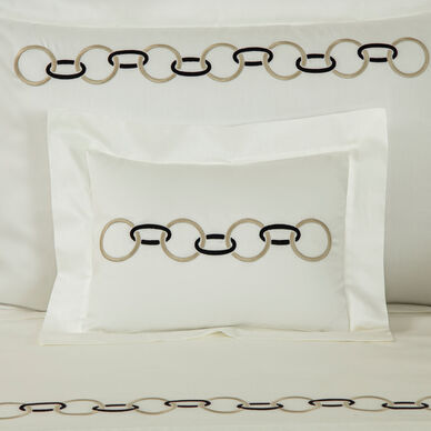 Links Embroidered Sham image
