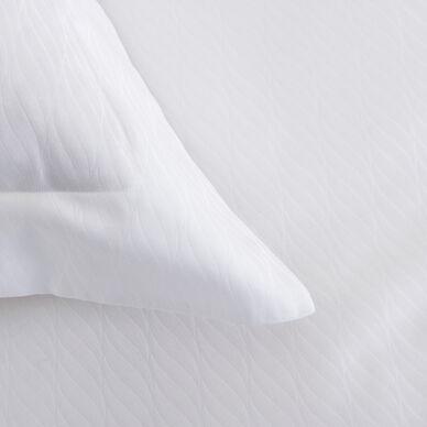 Taormina Euro Pillowcase White