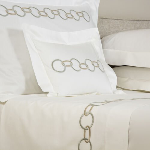 Links Embroidered Boudoir Sham