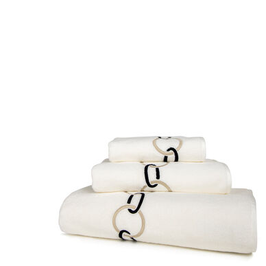 Links Embroidered Bath Sheet image