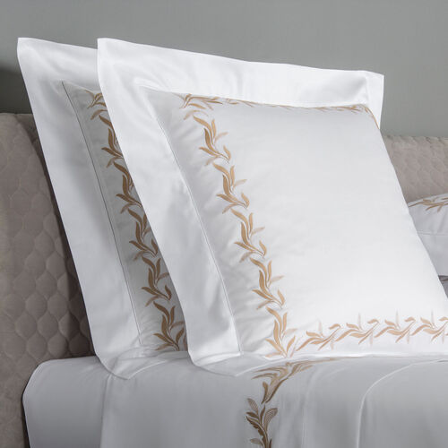 Zenith Embroidered Euro Sham