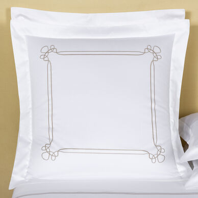 Sirmione Embroidered Euro Sham image