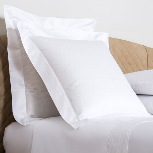 Taormina Euro Pillowcase White