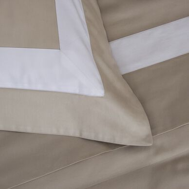 New Horizon Duvet Cover Khaki