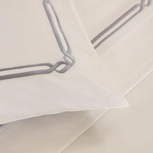 Frame Embroidered Sheet Set