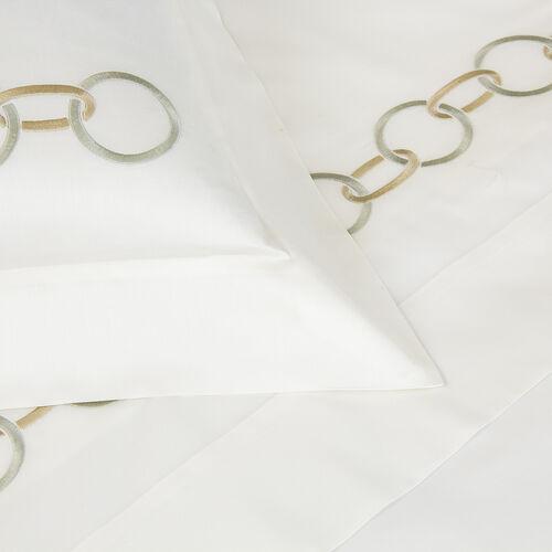 Links Embroidered Duvet Cover