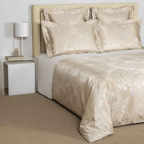 Luxury Ornate Medallion Duvet Cover