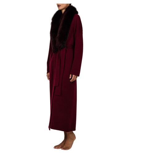 Fur Darling Robe