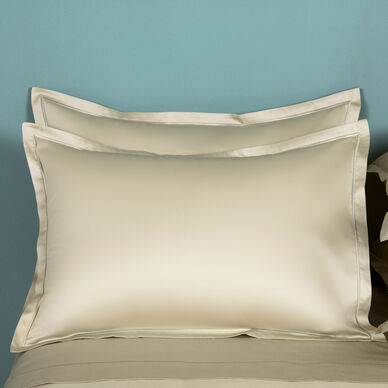 Amelia Euro Pillowcase Beige