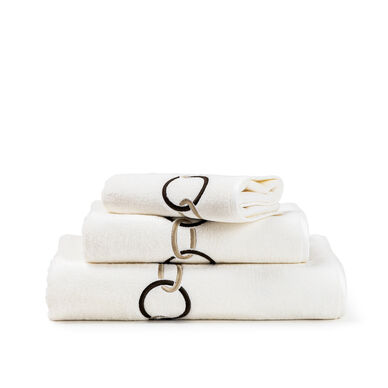 Links Embroidered Hand Towel image