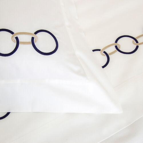Links Embroidered Sheet Set