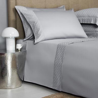 Savona Border Sheet Set Grey image