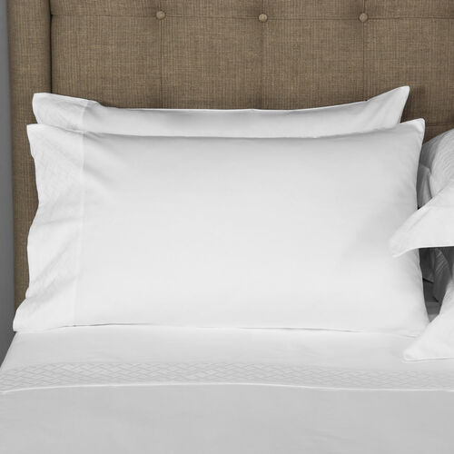 Savona Pillowcase Set White