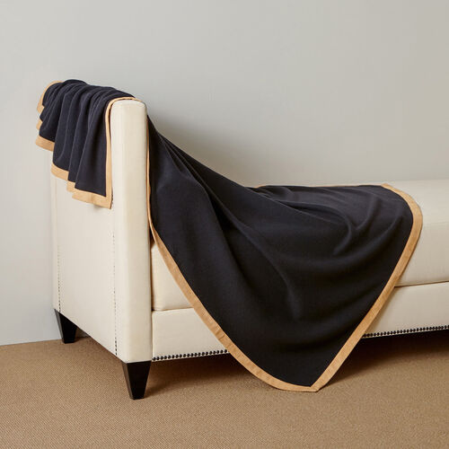 Cashmere Suede Throw