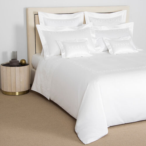 Links Embroidered Duvet Cover