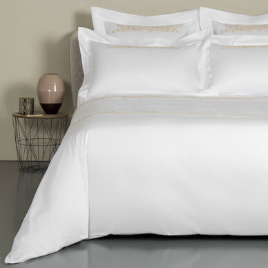 Fountain Embroidered Duvet Cover