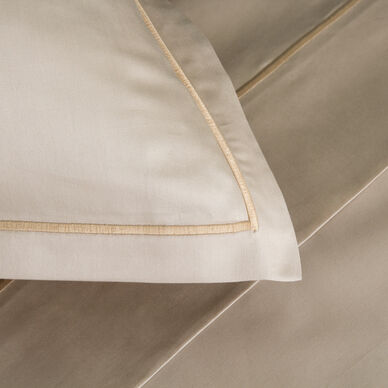 Amelia Euro Pillowcase Ecru