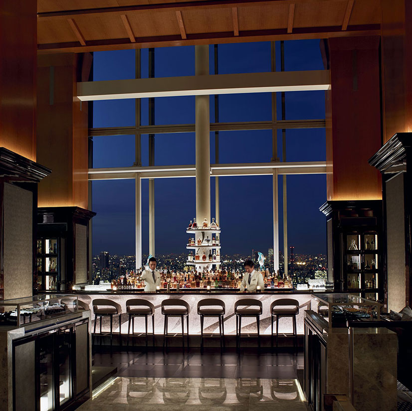 The Ritz-Carlton Kyoto rooftop bar