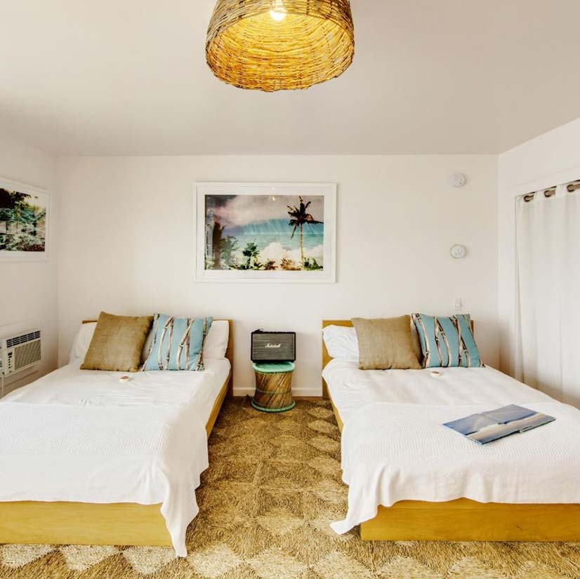 The Surf Lodge guest rooms