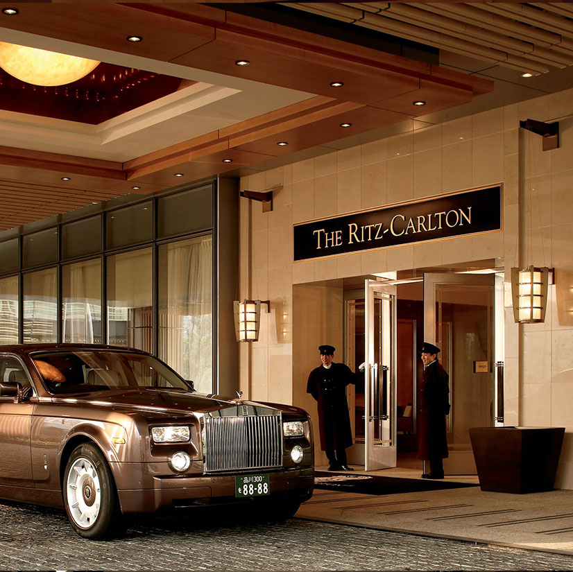 The Ritz-Carlton Kyoto entrance