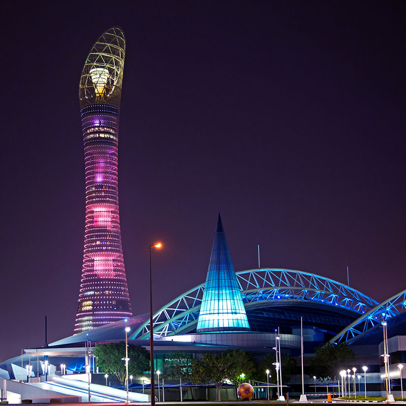 Torch Doha Skyline