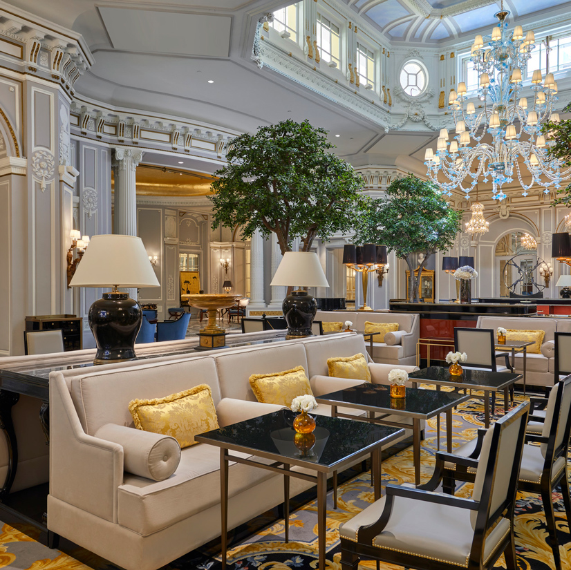 The St. Regis Rome Lounge Area