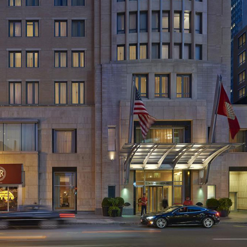 Mandarin Oriental Boston entrance