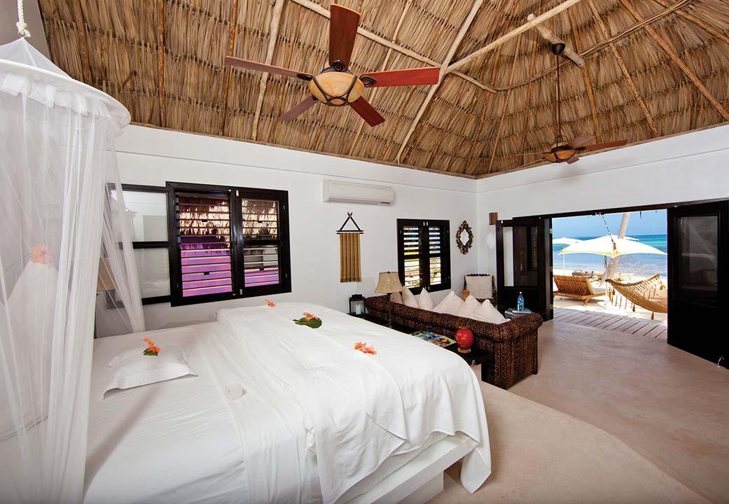 Guest suite at Matachica