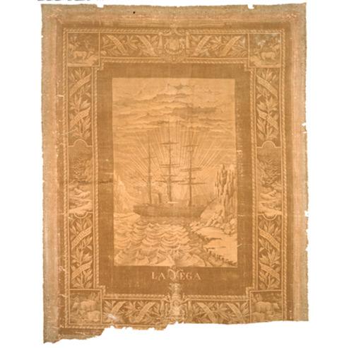 La Vega gold medal winning jacquard design 1881