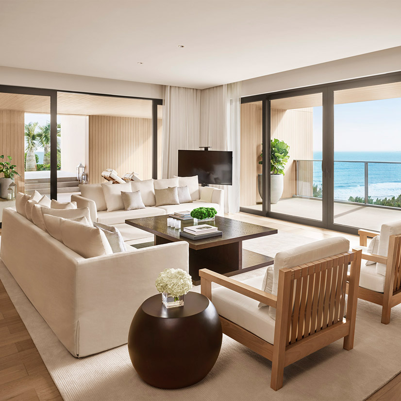 The Sanya EDITION Penthouse Sitting Room