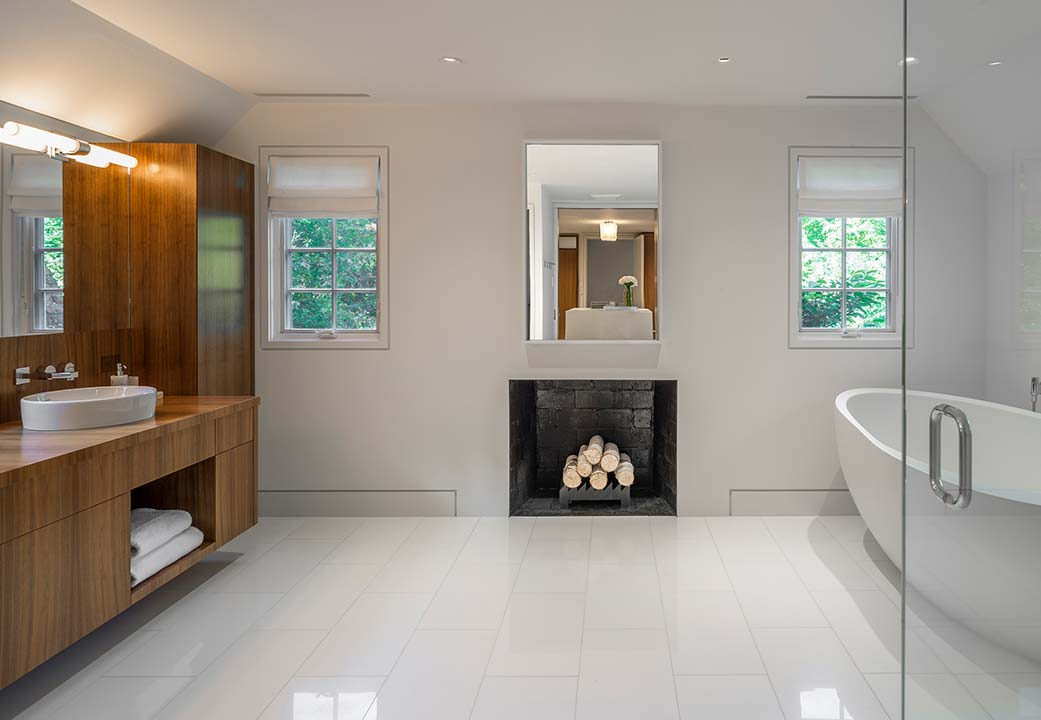 A bathroom designed by Jessica Vaule