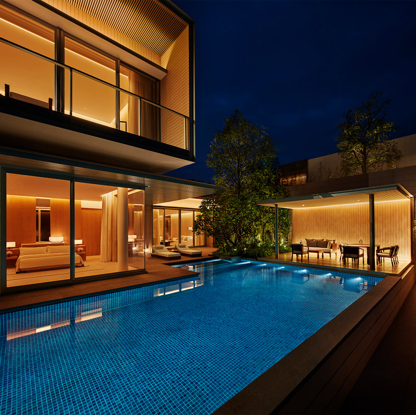 The Sanya EDITION Three Bedroom Villa Outdoor Pool