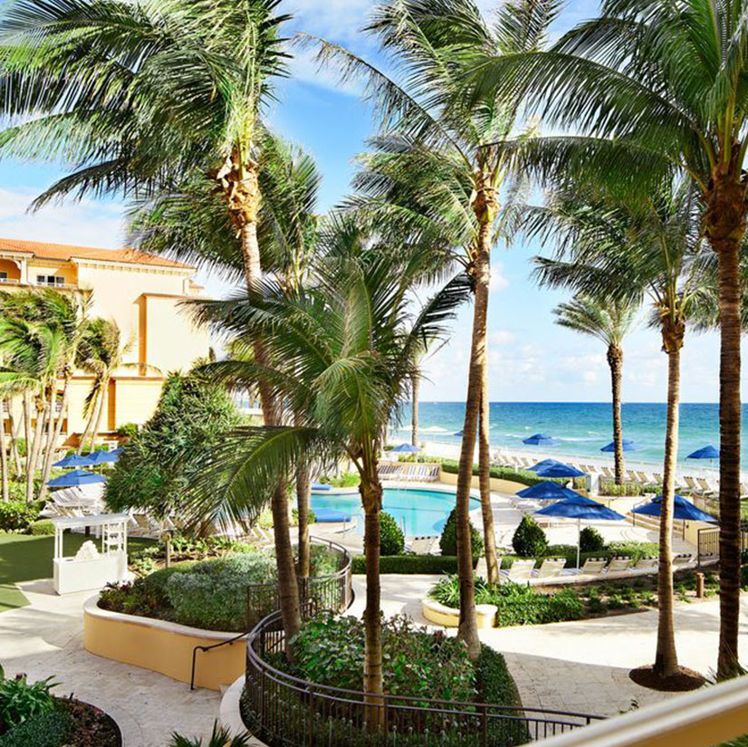 EAU Palm Beach Resort & Spa pool